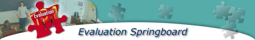 Evaluation Springboard Evaluation Banner